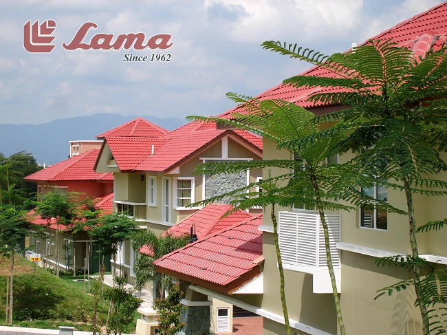 """Lama"", to date, is the largest and oldest privately owned Concrete Roofing Tile , Concrete tiles, Cement tiles, Roofing tile and Metal Door / Window Frame manufacturer in Malaysia and Singapore."